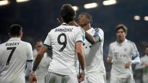Wenig Leistung, maximaler Ertrag für die Bayern