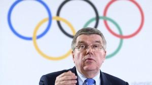 Wada und IOC kämpfen hinter Masken