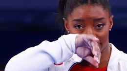 Viel Zuspruch für Simone Biles nach den Tränen