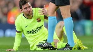 """""""Gruselige Bilder"""" von Messi sorgen Barça"""