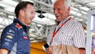 Haben nur noch selten etwas zu lachen: Teamchef Christian Horner (links) und Red-Bull-Besitzer Dietrich Mateschitz