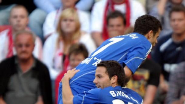 In der Liga bleibt Leverkusen in Schwung