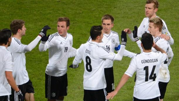 WM-Qualifikation Deutschland - Kasachstan
