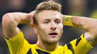 Sportlich ist Ciro Immobile noch keine große Verstärkung für Dortmund