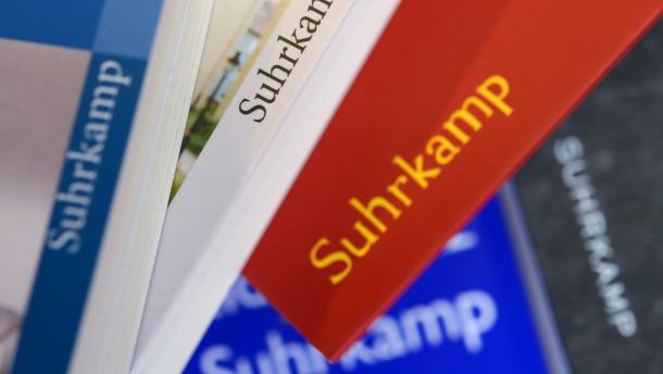 Geschäftsführung von Suhrkamp bleibt im Amt