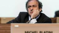 Das war es: Michel Platini gibt auf.
