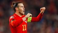 Wieder bei der EM dabei: Gareth Bale mit Wales