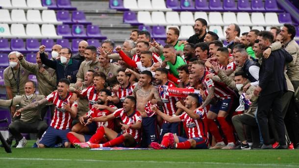 Suárez macht Atlético Madrid zum spanischen Meister