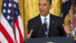 Obama verspricht mehr Transparenz