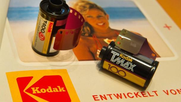 Kodak musste die etwa 1100 Patente für mindestens 500 Millionen Dollar abstoßen