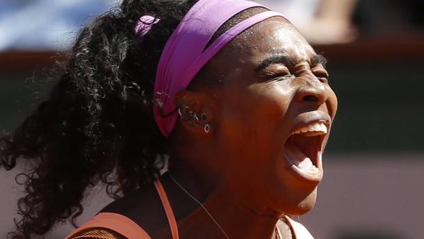 Serena Williams kommt Steffi Graf immer näher