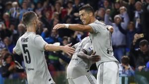 Ronaldo trifft bei Juve-Sieg