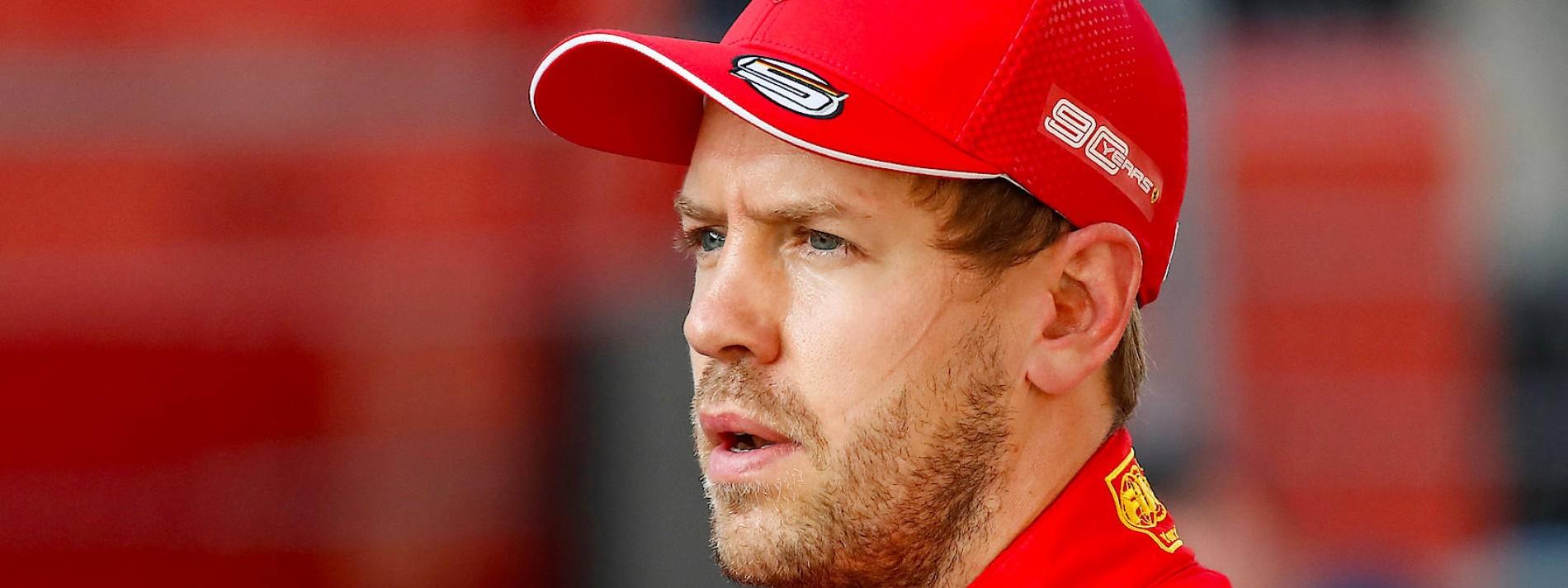 Vettel wird von Ferrari gebremst