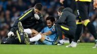 Ilkay Gündogan verletzte sich im Premier-League-Spiel gegen Watford.