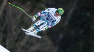 Volles Risiko: Klaus Kröll hat einen Weltrekord aufgestellt