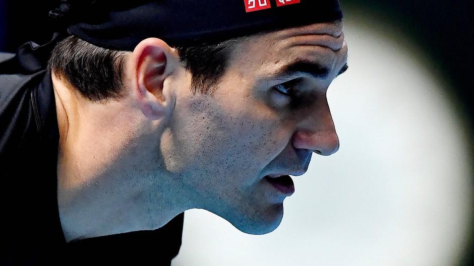 Ungewisser Blick in die Zukunft: Derzeit spricht nicht viel dafür, dass Roger Federer und Kollegen bald wieder im Einsatz sind.