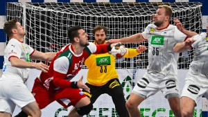 Deutsche Niederlage im Handball-Krimi