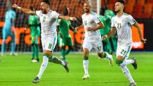 Außenseiter Algerien gewinnt Afrika-Cup