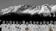 Das Startteam der AlpenVolleys 2017/18