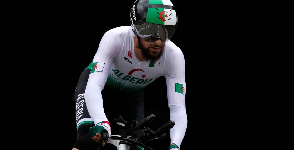 Der algerische Radsportler Azzedine Lagab wurde diskriminierend beleidigt.