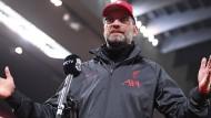 Kein Verständnis für die Kritik am Spiel: Jürgen Klopp nach dem Sieg gegen den FC Arsenal