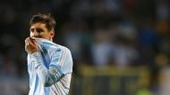 Will den Titel – und wahrscheinlich auch das Geld: Argentiniens Superstar Lionel Messi