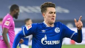Der junge Hoppe ist der neue Schalker Held
