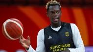 Wegweisende WM: Dennis Schröder könnte in China eine neue Ära einläuten.