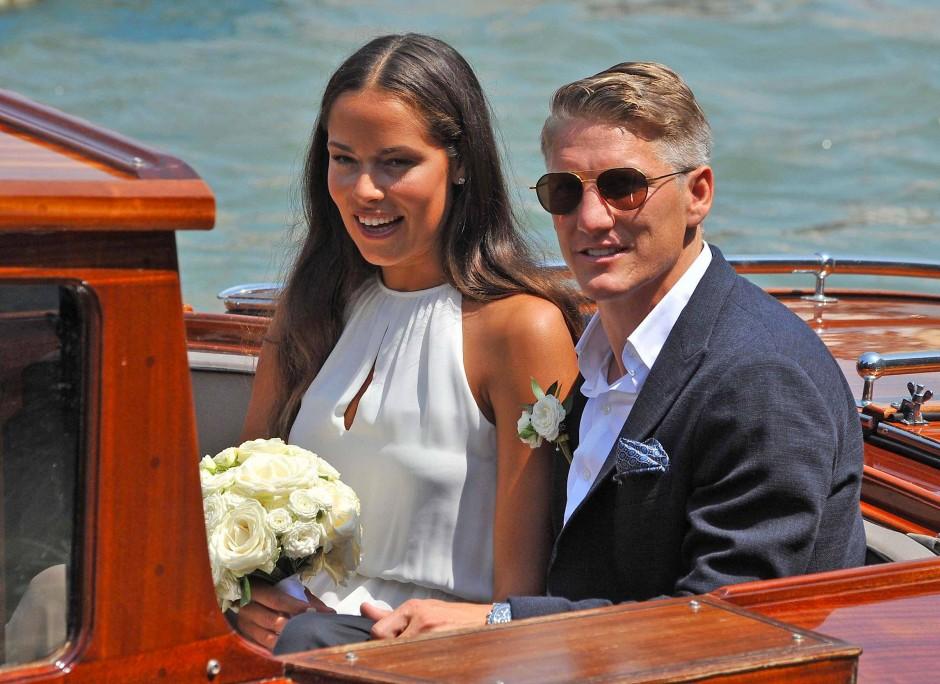 Im Sommer heiratete Ana Ivanovic Fußball-Weltmeister Bastian Schweinsteiger.