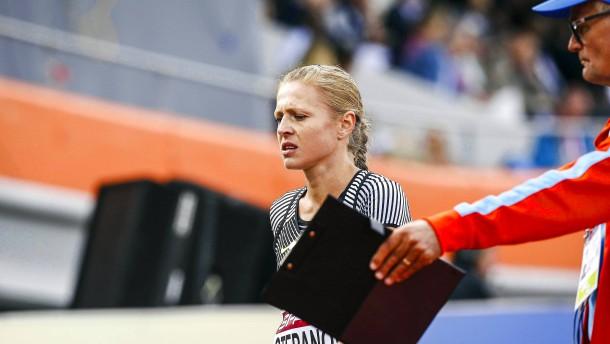 Stepanowa scheitert, Prüfung für Russen