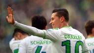 Draxler wechselt von Wolfsburg zu Paris St. Germain