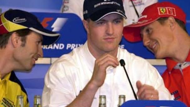 Ralf Schumacher verlängert bei BMW-Williams bis 2004