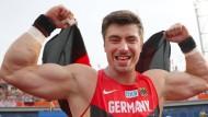 Starker Kerl: David Storl will bei Olympia in Rio eine Medaille holen.