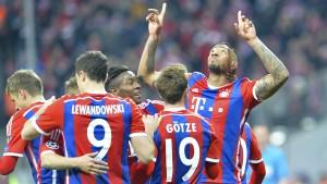 Bayern zittern nur drei Minuten