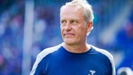 SC Freiburg und Streich bleiben bescheiden