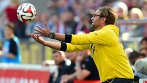 Klopp: Unser Fußball macht keinen Sinn