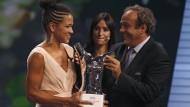 Celia Sasic ist Europas Fußballerin des Jahres