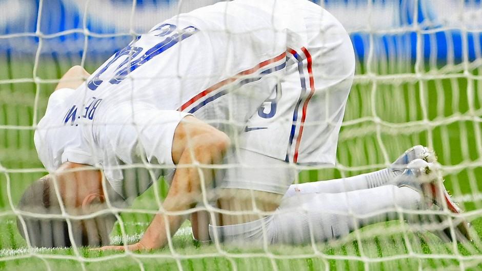 Karim Benzema wurde angeschlagen ausgewechselt am Dienstag.