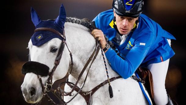 Ahlmann reitet in Aachen-Equipe