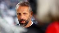 """Mönchengladbach-Trainer Marco Rose: """"Ich finde es wichtig, als Person in der Öffentlichkeit hier und da einfach mal eine Meinung zu bestimmten Themen zu sagen."""""""