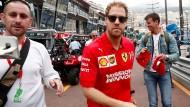 """Sebastian Vettel über Niki Lauda: """"Weil ich mich für unseren Sport interessiere, habe ich schnell begriffen, welche Rolle Niki gespielt hat."""""""