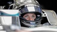 Volle Konzentration vor dem großen Finale: Nico Rosberg