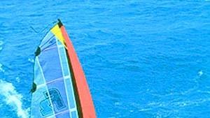 Wo Surfer Wind machen