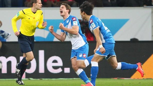 Hoffenheim gewinnt ein typisches Hoffenheim-Spiel