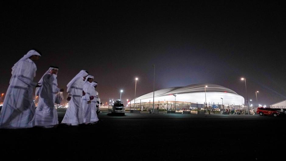 Qatar will glänzen: das Al-Dschanub-Stadion südlich von Doha