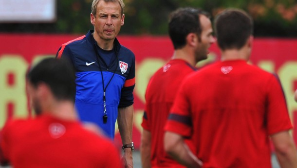 Vorsprung für Klinsmanns Amerikaner