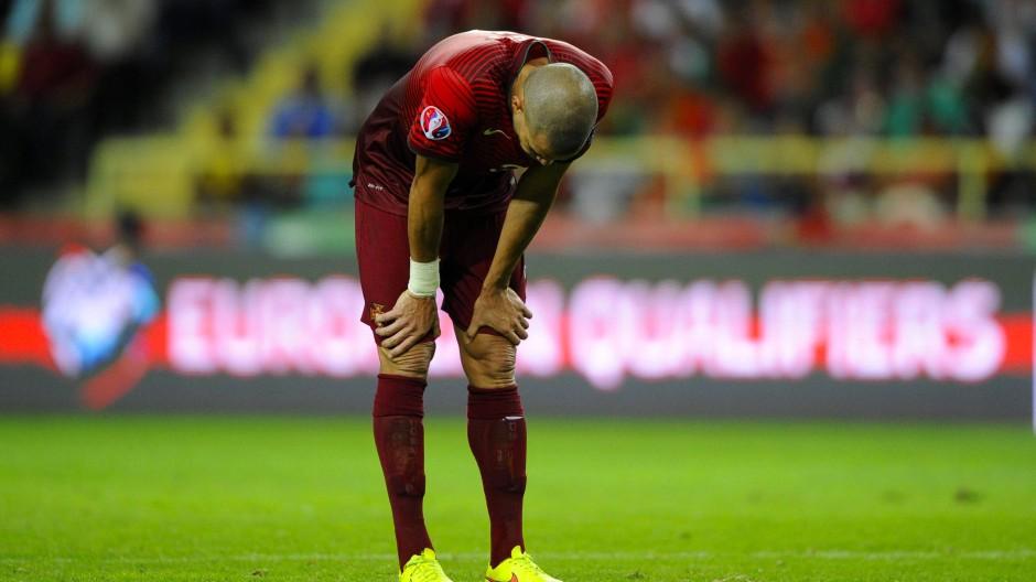 Nächster Tiefschlag: Portugal und Pepe starten mit einer bitteren Niederlage gegen Albanien in die Qualifikation