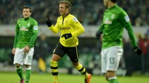 FIngerzeig an die Konkurrenz: Die Borussia ist noch dran