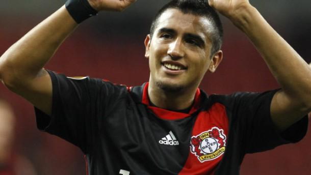 Vidal erlöst Leverkusen