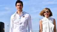 Die schnellste Ehe der Welt: Toto und Susie Wolff sind beide Teamchefs im Motorsport.